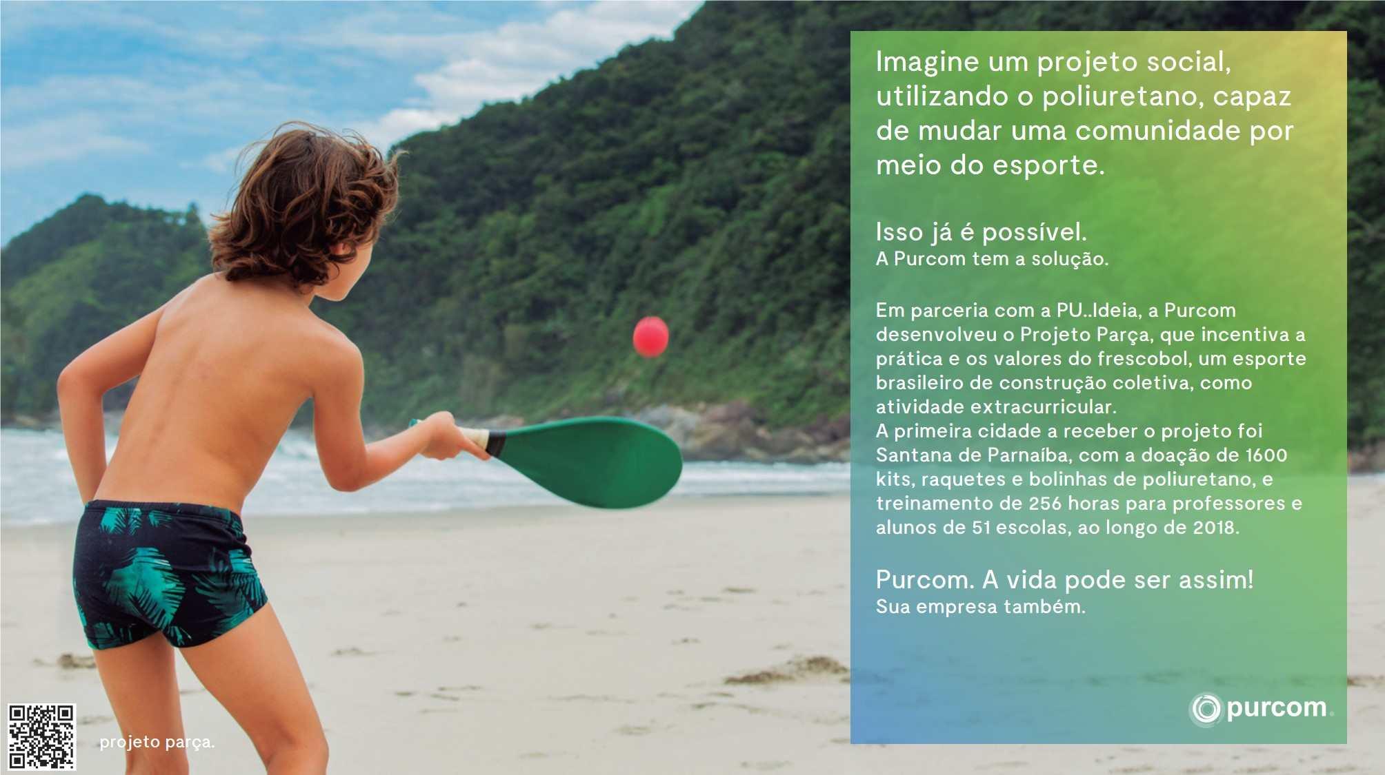 Projeto social, utilizando o poliuretano, capaz de mudar uma comunidade por meio do esporte