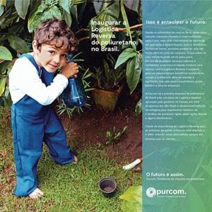 Inaugurar a Logística Reversa do poliuretano no Brasil